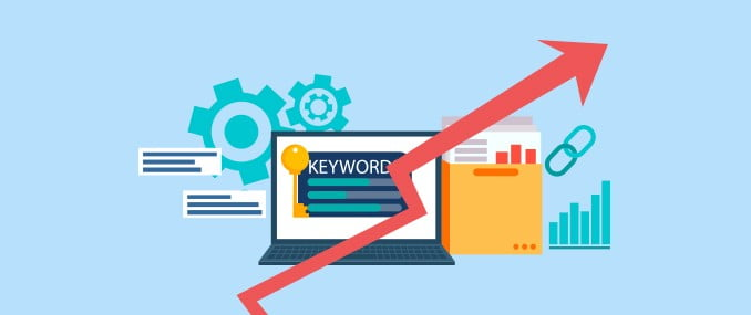 Organic traffic keywords